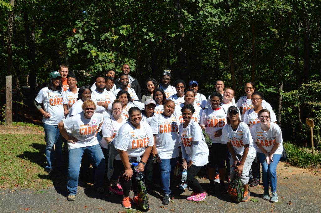 Gas South volunteers