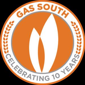 GS logo celebrating 10 years
