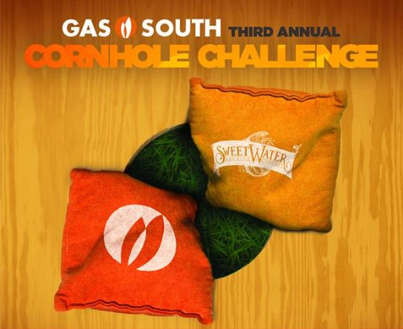 cornhole challenge graphic