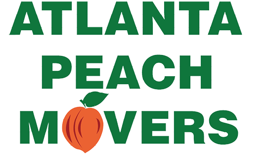 atlanta peach movers logo