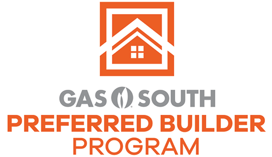 Gas South preferred builder program logo
