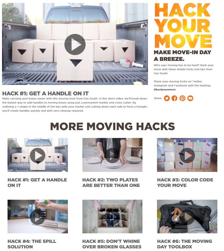 5 ways to hack your move