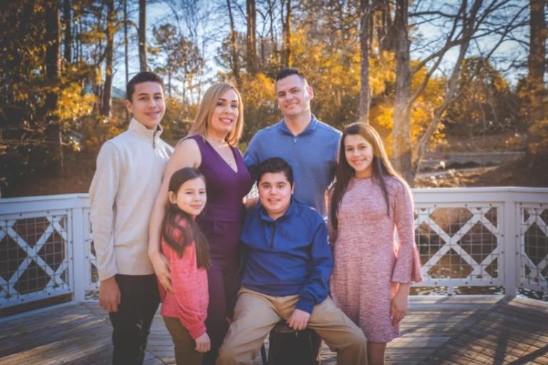 Alejandro and family